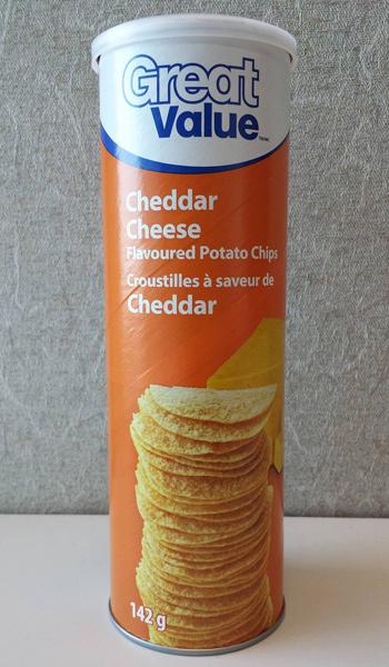 Croustilles Cheddar Great Value