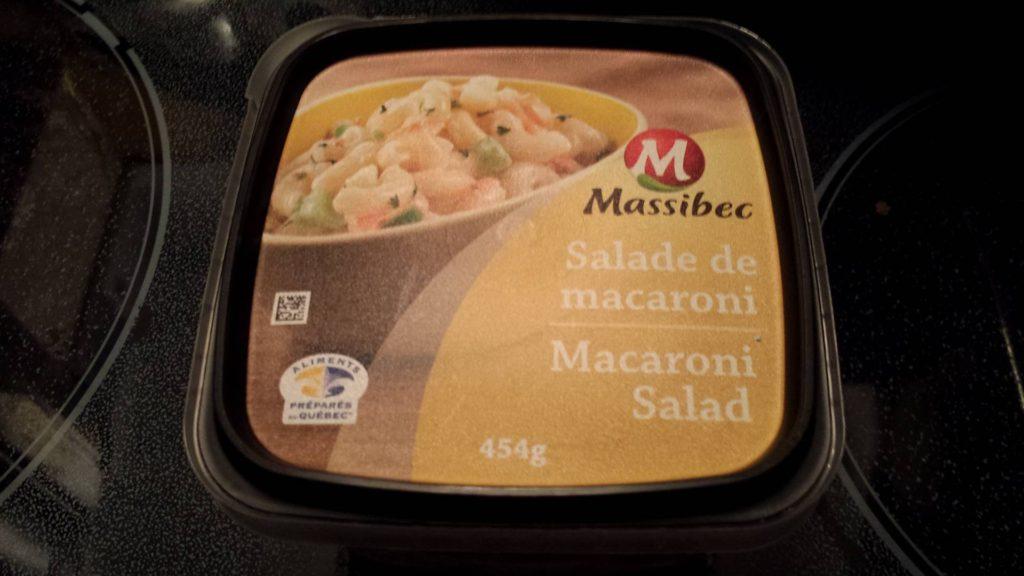 Salade de macaroni Massibec