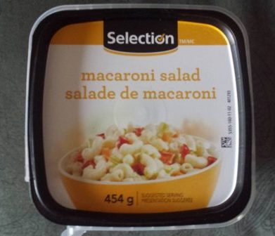 salade de macaroni Selection