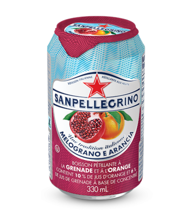 boisson pétillante Sanpellegrino Melograno