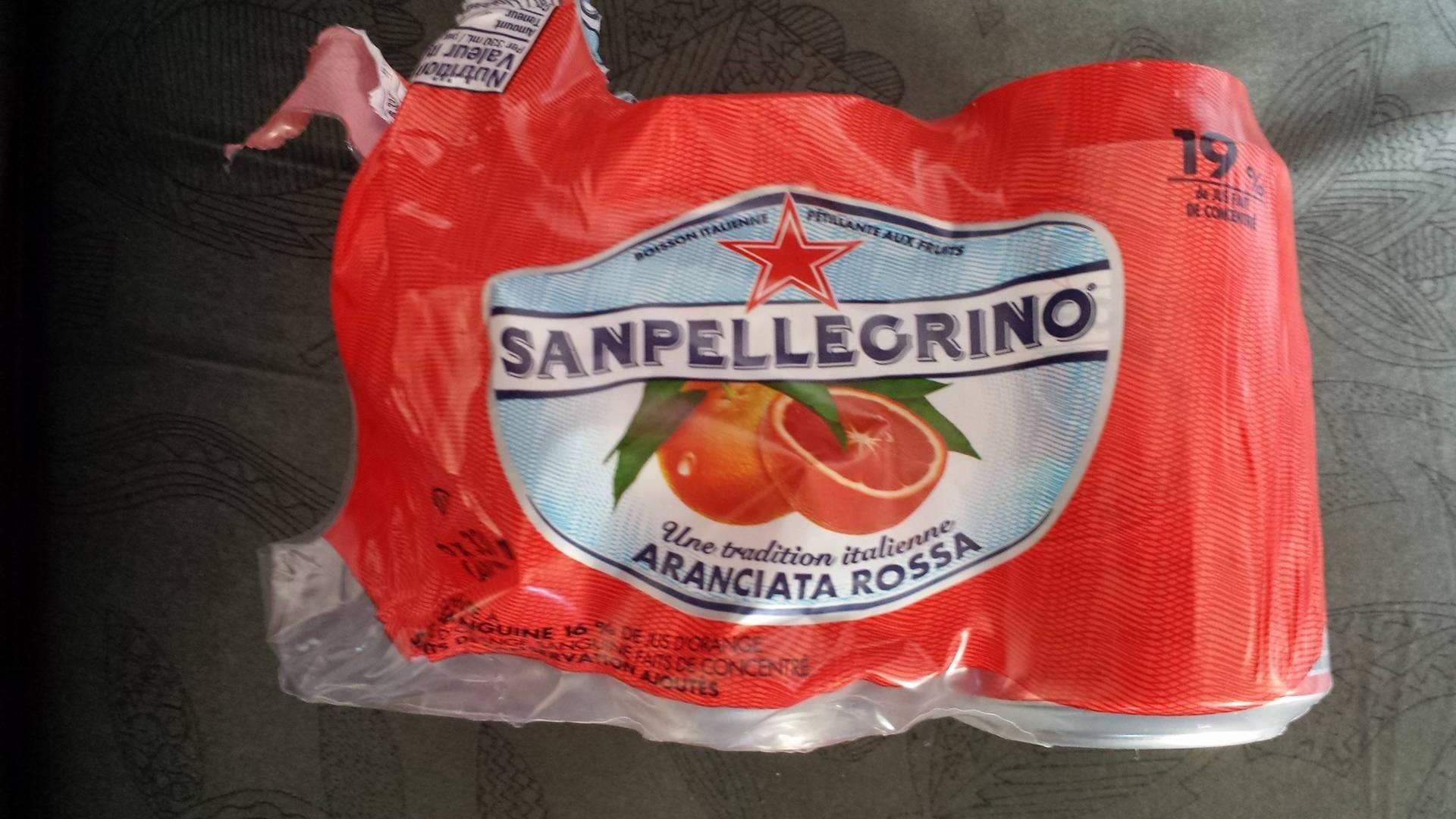 Sanpellegrino Arancia Rossa