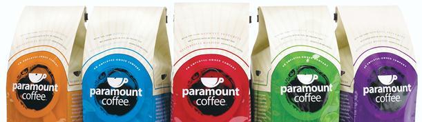 Paramount coffee au coconut et autres saveurs