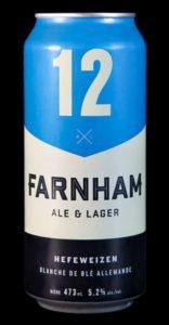 bière blanche de blé allemande de la brasserie Farnham Ale & Lager