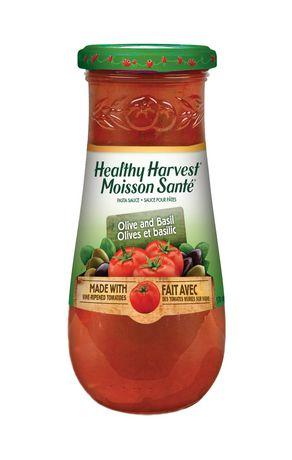 Sauces pour pâtes Moisson Santé olives et basilic