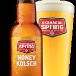 Bière Honey Kölsch d'Okanagan Spring