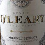 2015 O'Leary Cabernet Merlot