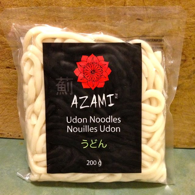 Nouilles Udon Azami. Photo provenant du blogue FarmHouse Cook.
