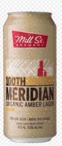 Bière 100th Meridian de la brasserie Mill St.