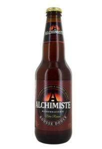 Bière Rousse Douce de la microbrasserie l'Alchimiste