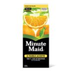 Jus d'orange Minute Maid à faible acidité