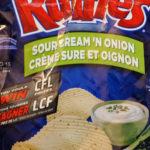 Croustilles Ruffles crème sûre et oignon
