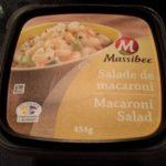 Salade de macaroni Massibec, possiblement la meilleure au Québec