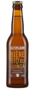 Altiplano bière bio au quinoa