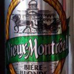 Bière blonde Vieux-Montréal