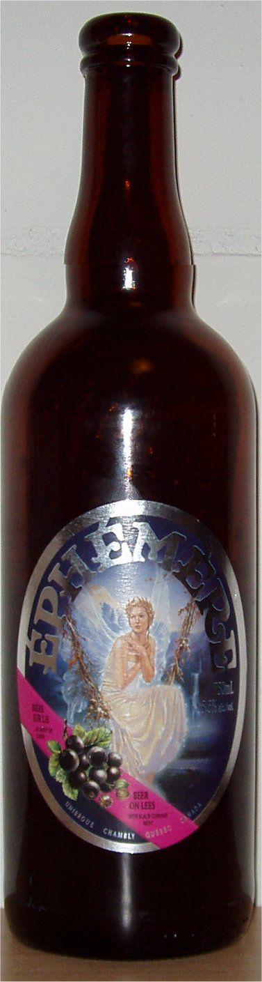 bière Unibroue Éphémère au cassis