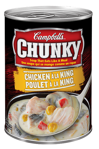 Chunky poulet à la king