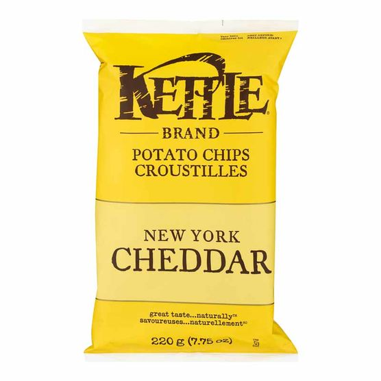 Croustilles Kettle New York Cheddar