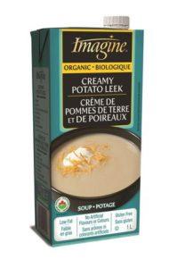 Imagine crème biologique de pommes de terre