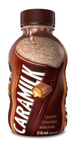 lait frappé au chocolat Caramilk