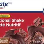 Lait fouetté nutritif equate, bon mais la paille outch!