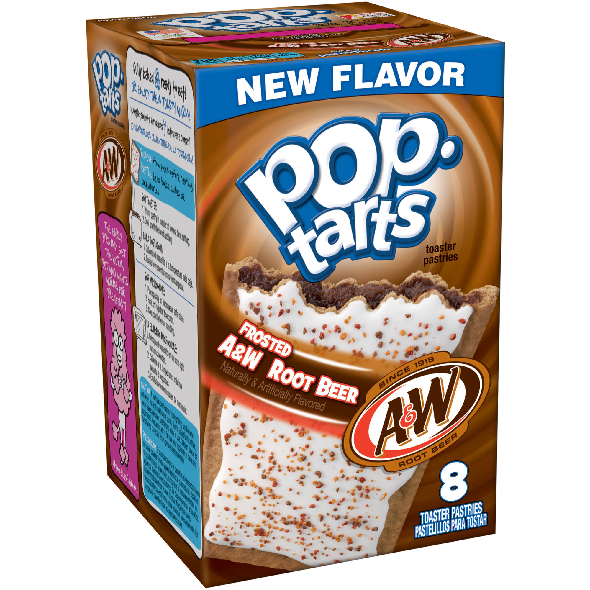 Pop tars à la saveur root beer A&W