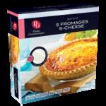 Quiche aux 5 fromages Plaisirs Gastronomiques