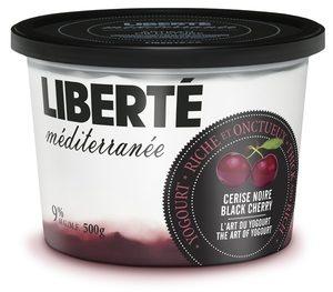 yogourt grec Liberté Méditerranée cerise noire