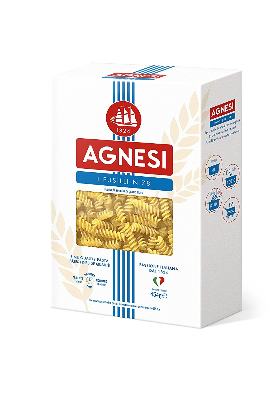 pâtes Agnesi Fusilli No 78