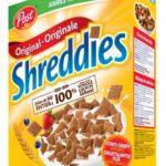 Céréales Shreddies originale