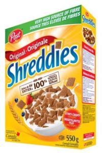 Céréales Shreddies originale de Post