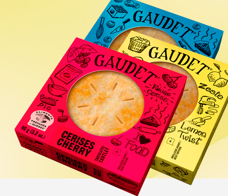 Tartelettes Gaudet, photo issue de leur site web