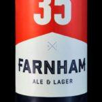 Bière Ale britannique de la brasserie Farnham Ale & Lager