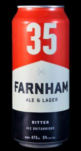 L'Ale britannique de Farnham Ale & Lager