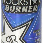 Boisson énergisante Rockstar Burner, ne brûler pas votre argent