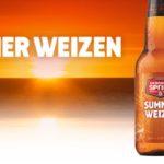 La bière Apricot Summer Weizen de Okanagan Spring, entre la porter et le rouge à lèvre