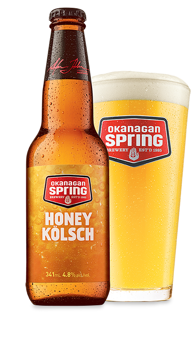 Bière Honey Kölsch d'Okanagan Spring