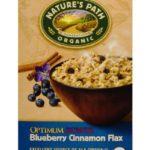 Céréales Nature's Path biologique Optimum Power, bleuet, cannelle et lin