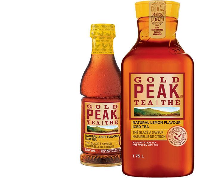 thé glacé Gold Peak