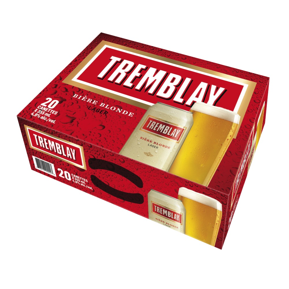 Bière blonde Tremblay