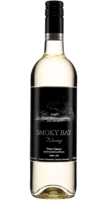 Smoky Bay Winery Pinot Grigio vin blanc