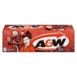 La canette de root beer A&W