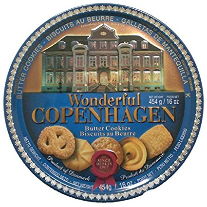 Biscuits au beurre Wonderful Copenhagen