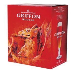 Caisse de bière Griffon ale rousse