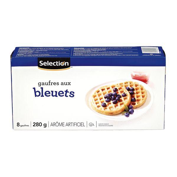 Gaufres aux bleuets Selection