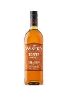 Whisky aromatisé J.P. Wiser's Caramel anglais