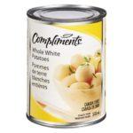Pommes de terre blanches entières Compliments