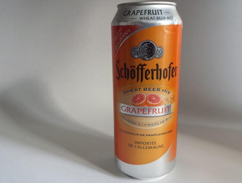 Schöfferhofer mélange à la bière de blé à la saveur de pamplemousse