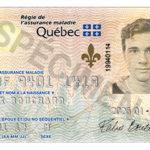 Nouveau look pour la carte d'assurance maladie du Québec
