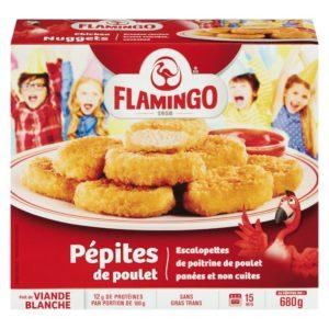 Pépites de poulet Flamingo