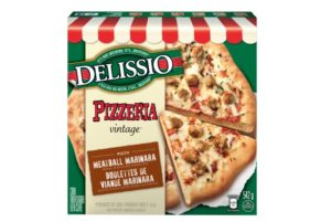 pizza Delissio Pizzeria Vintage boulettes de viande marinara